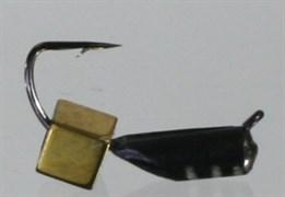 Гвоздекубик 2,5 Чёрный, Золотой Кубик 0,55гр 3шт