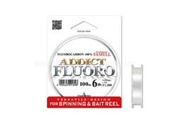 Леска флюорокарбон Yamatoyo Addict Fluoro100м #1 4Lb/0,168мм