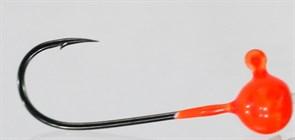 Форелевая Джиг-головка Kumho Vido 1,2гр Крючок VD-072 №2 Цвет оранжевый 10шт/уп