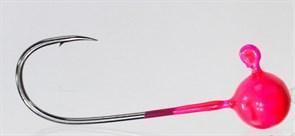 Форелевая Джиг-головка Kumho Vido 1,2гр Крючок VD-072 №2 Цвет розовый 10шт/уп