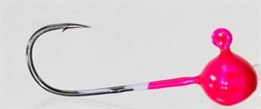Форелевая Джиг-головка Kumho Vido 1,2гр Крючок VD-072 №4 Цвет розовый 10шт/уп