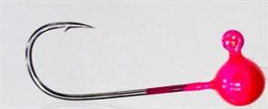 Форелевая Джиг-головка Kumho Vido 0,8гр Крючок VD-072 №4 Цвет розовый 10шт/уп