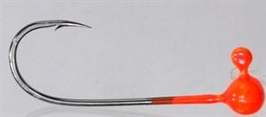 Форелевая Джиг-головка Kumho Vido 0,4гр Крючок VD-072 №2 Цвет оранжевый 10шт/уп