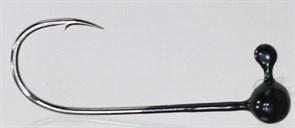Форелевая Джиг-головка Kumho Vido 0,4гр Крючок VD-072 №2 Цвет чёрный 10шт/уп
