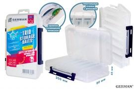 Коробка для приманок German Trio Storage Baits 20x12