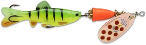 Блесна Вращающаяся Blue Fox Vibrax Chaser с рыбкой 13гр C