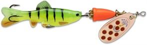 Блесна Вращающаяся Blue Fox Vibrax Chaser с рыбкой 8гр C