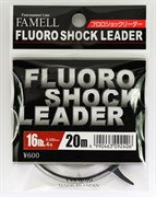 Леска флюорокарбон Yamatoyo Fluoro Shock Leader 20м #5 20Lb/0,370мм
