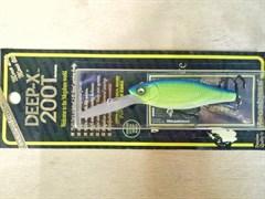 Воблер Megabass Deep-X 200T blue back mat chart
