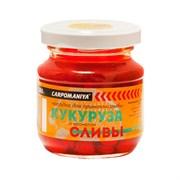 Кукуруза Карпомания в Стеклянной Банке Красно-оранжевая с ароматом Сливы 105гр