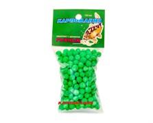 Пенопласт Карпомания зелёный с ароматом рыбы 150шт/уп