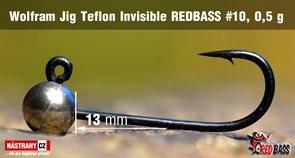 Джиг-головка Вольфрамовая Teflon №10 Nickel/Black 0,5гр 5шт/уп