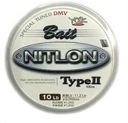 Леска YGK Nitlon Bait Type II Nylon 100м #2.5 10lb/0,260мм