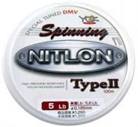 Леска YGK Nitlon Spinning Type II Nylon 100м #2 8lb/0,235мм