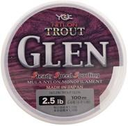 Леска YGK Nitlon Trout Glen Nylon 100м #1.2/5Lb