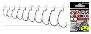 Крючки Офсетные Decoy S.S.Finesse Offest Hook Worm 19 #4 9шт/уп