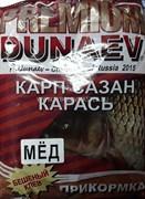 Прикормка Дунаев Премиум Карп Сазан Мёд Красный 1кг