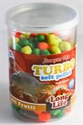 Benzar Mix Turbo Soft Pop-Up Pellet Long Life 60гр Tutti-Frutti Тутти-фрутти Долгорастворимый