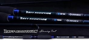 Спиннинг Zemex Bass Addiction 1,98м 6-21гр