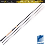 Удилище Матчевое Salmo Diamond Match 15 (4-15) 3,9м. (5537-390)