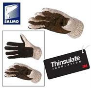 Перчатки вязанные Salmo Thinsulate (7043) p.L