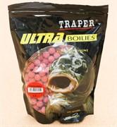 Бойлы прикормочные Traper Клубника 12мм 0,5кг