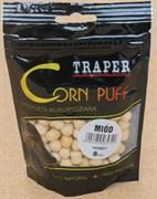 Насадка Traper Corn Puff Плавающая Воздушная кукуруза Мёд 8мм 20гр