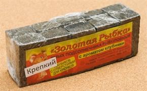 Жмых Подсолнечный ЗР в Кубиках 0,5кг Крепкий с ароматом Клубники