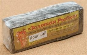 Жмых Подсолнечный ЗР в Кубиках 0,5кг Крепкий с ароматом Чеснока