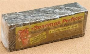 Жмых Подсолнечный ЗР в Кубиках 0,5кг с ароматом Чеснока