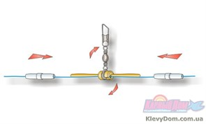 Глухое крепление матчевого поплавка Stonfo Small Size Float Attachment с вертлюгом 3шт/уп 0,6гр
