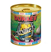Добавка в металлической банке Дунаев Кукуруза с Чесноком 320мл