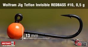 Джиг-головка Вольфрамовая Teflon №10 Orange/Black 0,5гр 5шт/уп