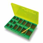 Коробка магнитная для крючков Stonfo Large Size Magnetic Hooks Box 12 отделений 155х105х11мм