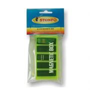 Коробка магнитная для крючков Stonfo Small Type 5 отделений 95х45х16мм с пинцетом в инд. упаковке