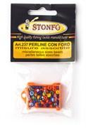 Набор разноразмерных цветных бусин Stonfo Small Miscellaneous Sizes Beads