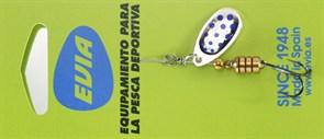 Блесна Вращающаяся Cucharilla Evia 11-1 PA