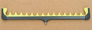 Подставка Mifine гребенка 15 неопрен Жёлтая Большая 47см