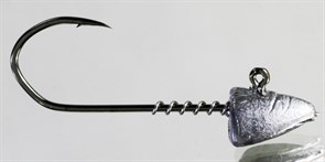 Микро-джиг Barbarian с пружинкой Малёк крючок №2 6гр