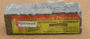Жмых Подсолнечный ЗР в Кубиках 0,5кг Крепкий с Кукурузой