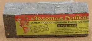 Жмых Подсолнечный ЗР в Кубиках 0,5кг с Кукурузой