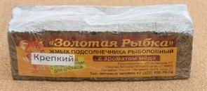 Жмых Подсолнечный ЗР в Кубиках 0,5кг Крепкий с ароматом Мёда
