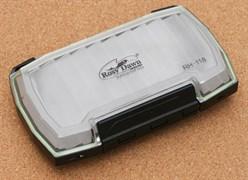 Коробка Rosy Dawn для блёсен Двусторонняя RH-118 16х10см