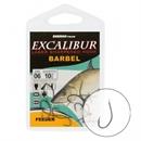Крючки Excalibur Barbel Feeder Ns 4