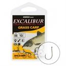 Крючки Excalibur Grass Carp Big Corn Ns 1/0