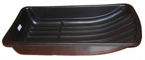 Сани рыболовные Bemal (пласт. корыто) № 3/2 890х490х180мм, чёрные
