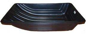 Сани рыболовные Bemal (пласт. корыто) № 4/2 1020х620х220, чёрные