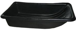 Сани рыболовные Bemal (пласт. корыто) № 5 850х450х220мм, чёрные