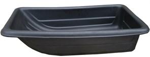 Сани рыболовные Bemal (пласт. корыто) № 5/2 850х450х220мм, чёрные