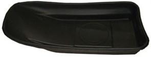 Сани рыболовные Bemal (пласт. корыто) № 6 1150х550х210мм, чёрные